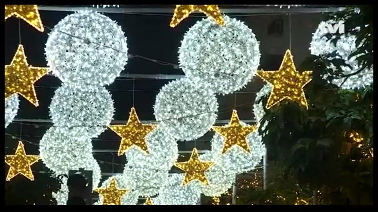 Mais de três milhões de lâmpadas iluminam o Funchal