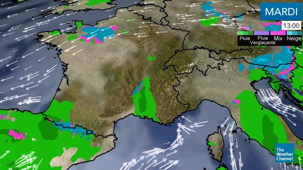 La météo du mardi 20 novembre en vidéo