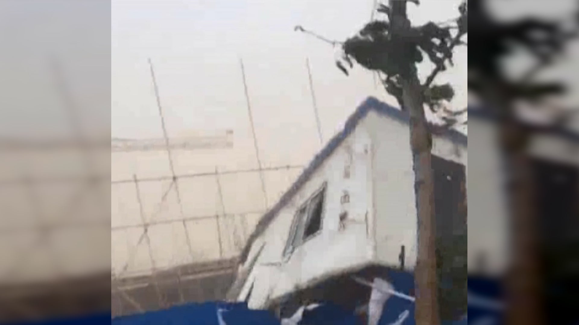 Astonishing Windstorm in China Causes Damage