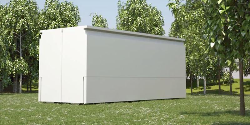 es sieht aus wie ein container und dann steht das haus the weather channel. Black Bedroom Furniture Sets. Home Design Ideas